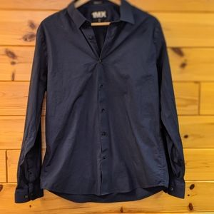 Deep Blue Men's dress shirt